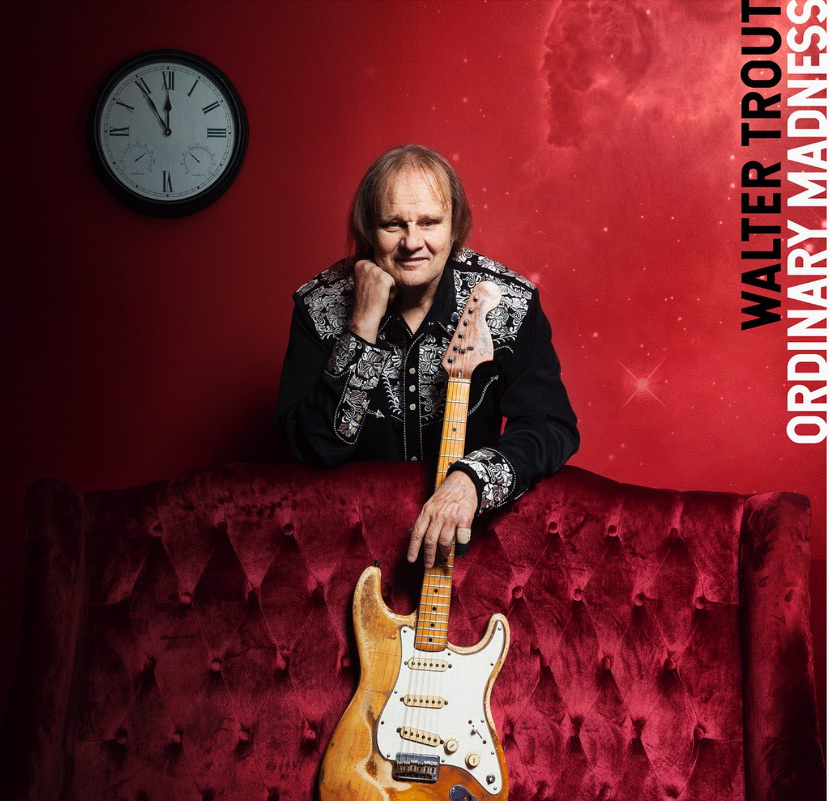 Vind Walter Trouts anmelderroste CD/LP Ordinary Madness